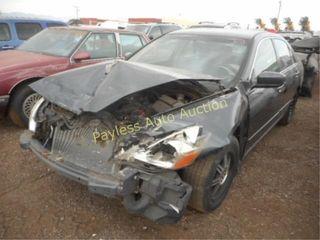 2007 Honda Accord 1HGCM56377A099874 Blu
