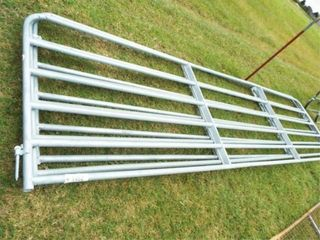 16IJ Gates  6 bar  aluminum  no paint  some bent