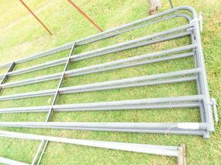 10IJ Gates  6 bars  Grey  couple bent bars