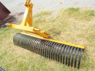 Country line Rock Rake  6IJ  New  bent hitch attach