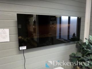 "Amantii 48"" Wall or Built in Electric Fireplace,"