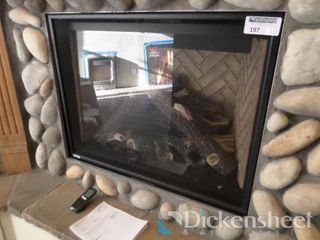 Montigo 34,000 Btu Fireplace, Retail $3966.00,