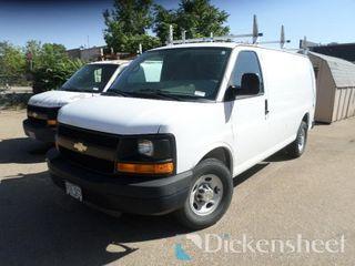 2014 GMC 2500 Van, Vin 1GCWGFBG4E1122901, Mileage