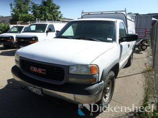 2000 GMC SLC Pickup, Utility Box, Vin