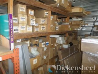 Inventory Located on Wooden Shelves, Fans,