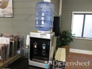 New Age 5 Gallon Table Top Water Cooler, Needs