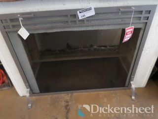 "Fireplace Screen, 39"" W x 31"" H, Retail $449.00,"