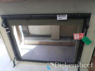 "Fireplace Screen, 39"" W x 31"" H, Retail $699.00"