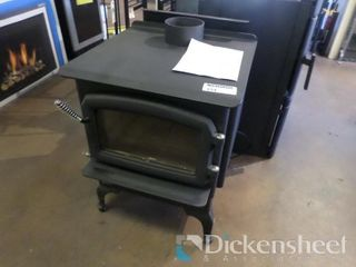F2400 Medium Woodstove, Bottom Shield, Cast Iron