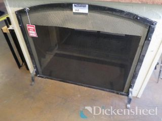 "Fireplace Screen, 39"" W x 31"" H, Retail $539.00,"