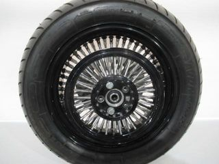 H D Custom Thick Spoke Wire Wheels