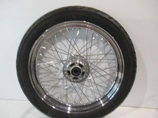 19  H D Wire Wheel Dual Disk with Tire