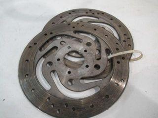 H D Brake Rotors  2  Serviceable Condition 11 1 2