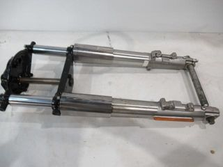 H D Fl Front Fork Assembly with Tins Triple Trees