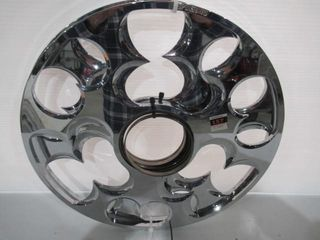 H D 16  Chrome Wheel Spinners with Bearings