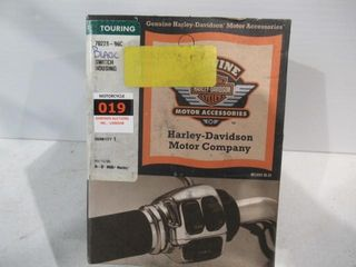 H D   New  in Box Black Switch Housings