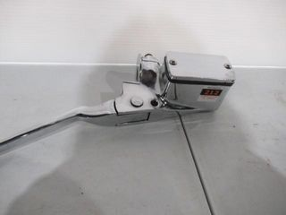 H D Chrome Front Master Cylinder with lever Clamps