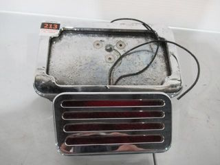 H D Chrome licence Plate Mount with Frame