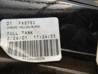 FXSTI 5Gal Tank Black Yellow F T