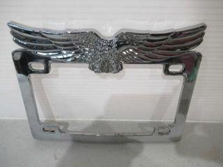 Chrome licence Plate Frame