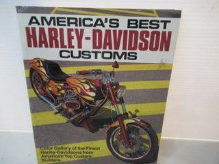 Harley Davidson  Customs  Book