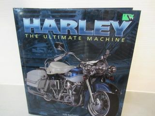 large Hard Cover Photos of Harleys   History