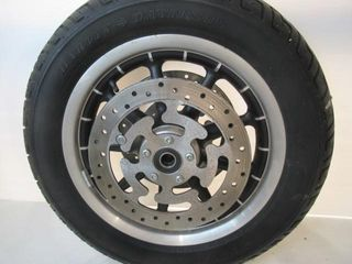 Electraglide Front Rear Spoked Wheels with 1 Tire