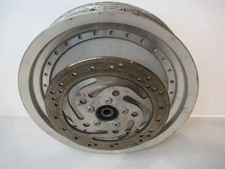 Pair of Fat Boy Wheels with 1 Disk