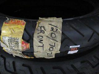 120 70ZR18 Front Tire Pirelli
