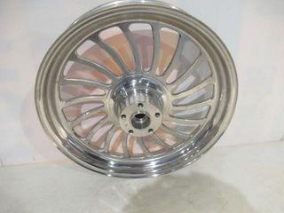 Pair 18  Alloy Wheels  single Disc Front