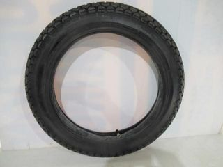 Matching Pair of 350 x 18 Semi Knobby Tires ORG
