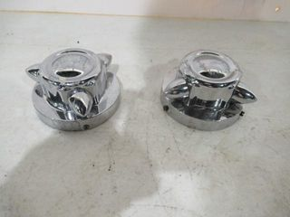 Pair Spinner Gas Cap Covers