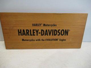 Harley Wood Sign  Evolution  15 1 2  x 7