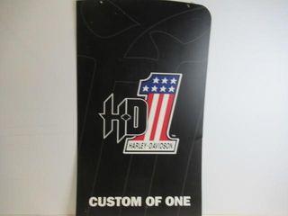Harley Hard Vinyl Sign 2 Sided 22  x 38