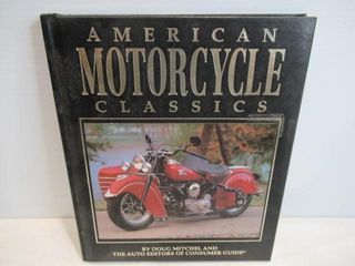 Book Hard Cover American Motocycle Classics