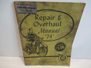 Indian 74  Repair Manual