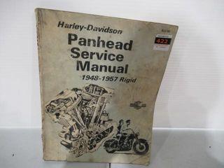 Panhead Service Manual 1948 57 Rigid Frame