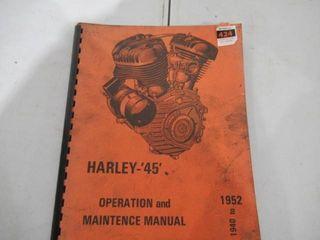 Harley 45  Operation Maintenance Manual 1940 52
