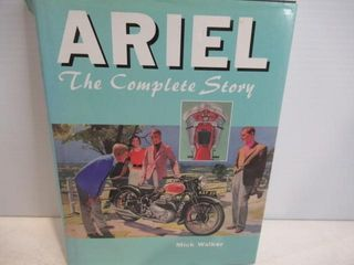 Ariel Motorcycle History Hard Cover