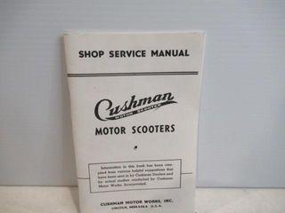 Cushma Scooter Service Manual