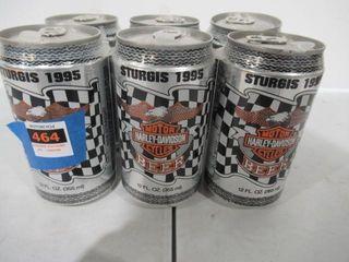 1995 Sturgi 6 Pack Beer Unopened