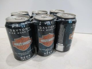 1997 Daytona 6 Pack Beer Unopened
