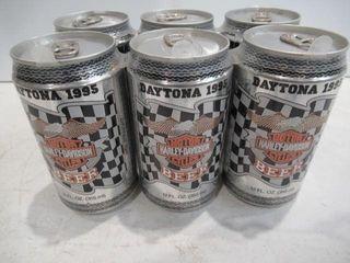 Unopened Beer 6 pack Daytona 1991  2 1992