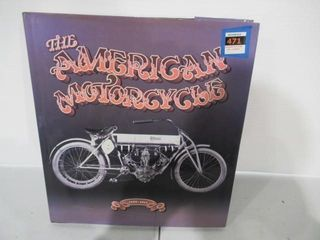 272 Page  The American Motorcycle  Hard Cover