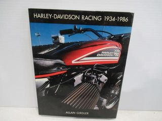 H D Racing 1934  1986 191 Pages 11 1 2  x9