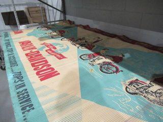 Fifties Sixties  Tops in  81  x 48  Harley Dealer