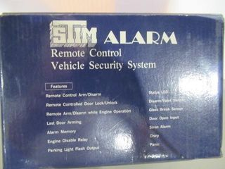 Remote Control Motorcycle Alarm New in Box