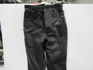 ladies leather Pants Size 10 New Never Worn