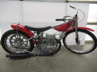 1973 Jawa Speedway Motorcycle with 1 Extra Spo