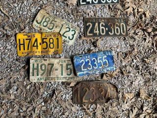 WI. License Plates